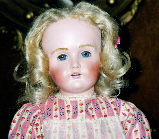 Bisque Head Doll Restoration